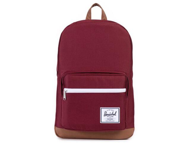 Herschel Pop Quiz Backpack Unisex, windsor wine/tan
